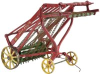 Vindex Cast-Iron Tugs-Rollers Cast iron Johne Deere hay...