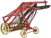 Vindex Cast-Iron Tugs-Rollers Cast iron hay loader. Case...