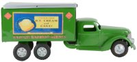 Buddy L Tin-Trucks Railway Express Agency truck, made of...