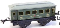 Bub Railway-Passenger Cars Passenger car #4601 with four...