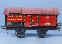 Bub Railway-Freight Wagons Cement car #985 lime car with...