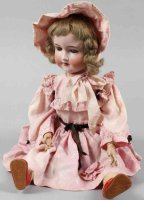 Marseille Armand Dolls Porcelain head doll 390 A6M, girl...