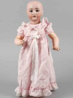 Gans & Seyfarth Dolls Porcelain head doll marked G. &. S....