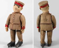 Schuco Tin-Figures English-American soldier #170,...