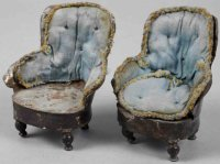 Rock & Graner Dolls_Accessories One pair of armchairs for...