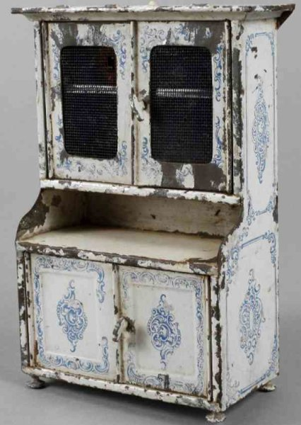 Bing Dolls_Accessories Dolls  kitchen cupboard, unmarked, sheet metal lithographed