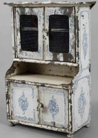 Bing Dolls_Accessories Dolls  kitchen cupboard, unmarked,...