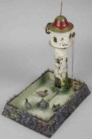 Wunderlich Steam Toys-Drive Models Water tower with...