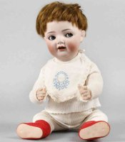 Simon & Halbig Dolls Porcelain head doll character baby...