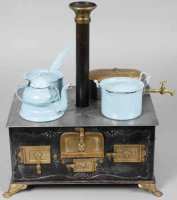 Bing Tin-Kitchens and Amenities Dolls stove with...