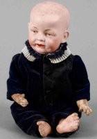 Schmidt Franz & Co Dolls Serious boy doll marked Franz...