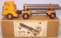 Biller Tin-Trucks Pipe transport trolley #759 made of...