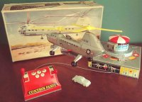 Biller Tine Ariplanes Helicopter #110 transporter,...