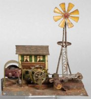 Wunderlich Steam Toys-Drive Models Mill house with...