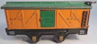 American Flyer Railway-Freight Wagons Box car #3012 with...