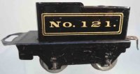American Flyer Railway-Tender Tender #121 with four...