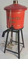 American Flyer Tin-Toys Water tank #215, made of metal,...