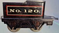 American Flyer Railway-Tender Tender #120 with four...