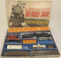 American Flyer Railway-Trains Hudson freight set in...