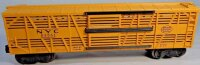 Lionel Railway-Freight Wagons Cattle car #6356 with eight...
