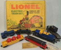 Lionel Railway-Trains Freight set #1611, with display...