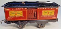 American Flyer Railway-Passenger Cars Baggage car #1200...