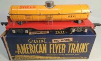 American Flyer Railway-Freight Wagons Shell tank car #480...