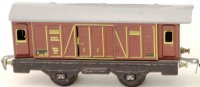 Distler Railway-Freight Wagons Box car #250 with four...