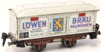 Distler Railway-Freight Wagons Beer Car #256 with four...