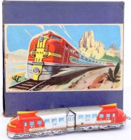 Distler Railway-Locomotives Railcar #4000 Santa Fe with...