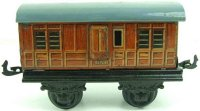 Bing Railway-Passenger Cars English baggage car GNR with...