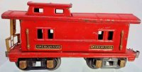 American Flyer Railway-Freight Wagons Caboose #232 with...