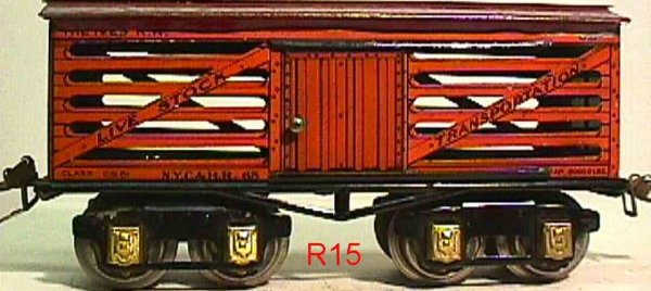 Ives Freight Wagons 65 (1930)