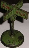 Arcade Tin Others Road sign made of cast iron STOP/GO...