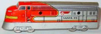 Distler Railway-Locomotives Railcar #503L F7 Santa Fe TD...