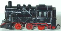 Distler Lokomotiven Lokomotive #505L BR 80 in schwarz mit...
