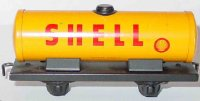 Distler Railway-Freight Wagons Shell tank car #531 with...
