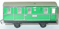 Distler Railway-Freight Wagons Box car with four wheels,...