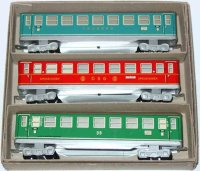 Distler Railway-Passenger Cars Set of three passenger...