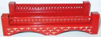 Kibri Railway-Bridges Railway bridge #0/61/49 in red