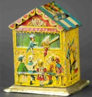 L. Georg Bierling & Co Tin-Penny Toy Money box with...