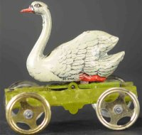 Meier Tin-Penny Toy Deluxe version of platform swan has...