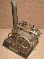 Schoenner Steam Engines-stationary-Lokomobile The Lipsia...