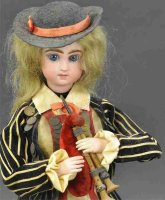 Unknown Tin-Automata Woman playing bagpipes as musical...
