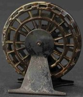 Unknown Cast-Iron-Mechanical Banks Water wheel still...