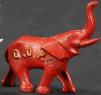 Williams AC Cast-Iron-Mechanical Banks Art deco elephant...