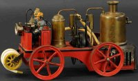 Bing Tin-Fire-Truck Live steam fire pumper #156/62....