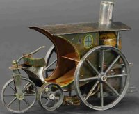 Schoenner Steam-Vehicles Live steam tricycle with...