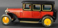 Bing Tin-Oldtimer Saloon car #10/4149 with clockwork....