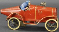 Pinard Tin-Race-Cars Boat-tail racer, made of...